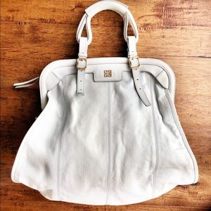 Givenchy Snakeskin pattern gray Large Leather Hobo